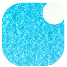 Liner piscine Blanc