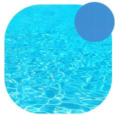 Liner piscine bleu adriatique