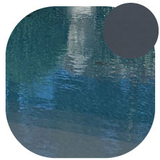 Liner piscine Gris sombre