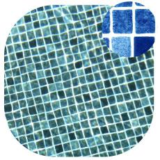 Liner imprimé piscine Persia Bleu