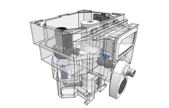 Bloc de filtration Aquadiscount