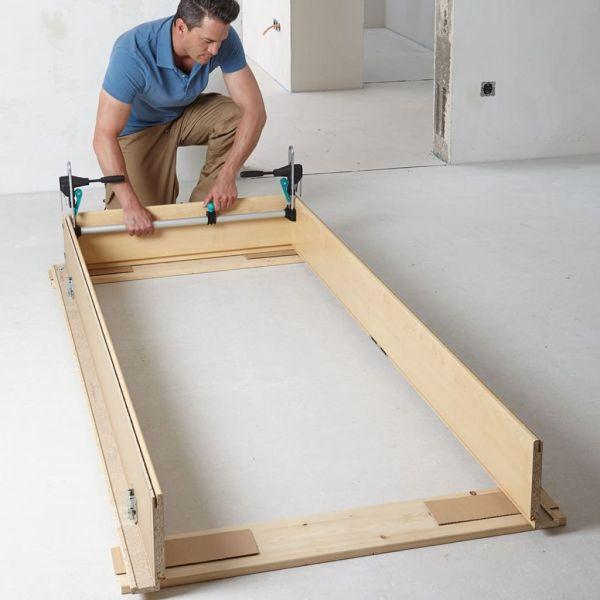 wolfcraft Set de scule pentru montare toc de ușă, PRO 3676000