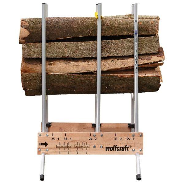 wolfcraft Suport de tăiat lemne pentru drujbe 5121000