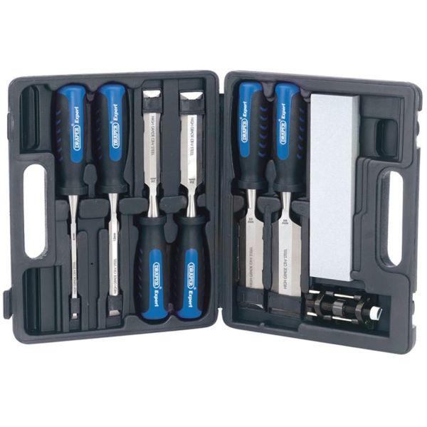 Draper Tools Set de daltă pentru lemn, opt piese, 88605