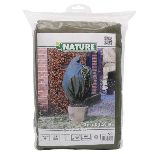 Nature Husă anti-îngheț din fleece, verde, 1,5×2 m, 70 g/m²