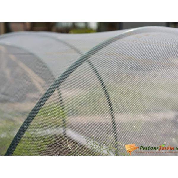Nature Plasă anti-insecte, transparent, 2 x 10 m