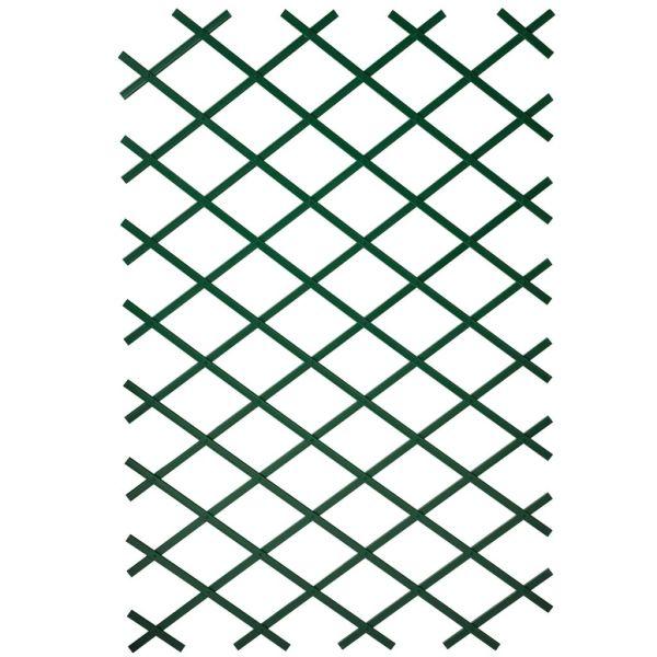 Nature Gard de grădină tip Trellis, 50 x 150 cm PVC, verde, 6040702