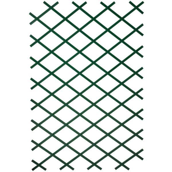 Nature Spalier de grădină, verde, 100 x 300 cm, PVC
