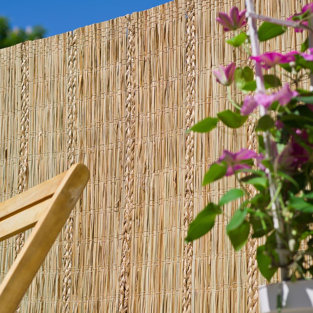 Nature Paravan de grădină, 3 x 1,5 m, rogoz