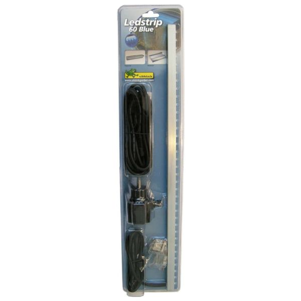 Ubbink Bandă LED cu 35 LED-uri, 60 cm, albastru, 1312119