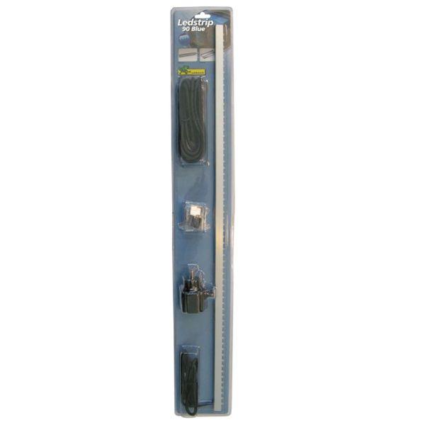 Ubbink Bandă LED cu 62 LED-uri, 90 cm, albastru, 1312120