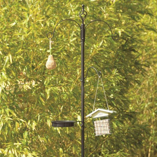 Esschert Design Stație de hrănire pentru păsări L FB405