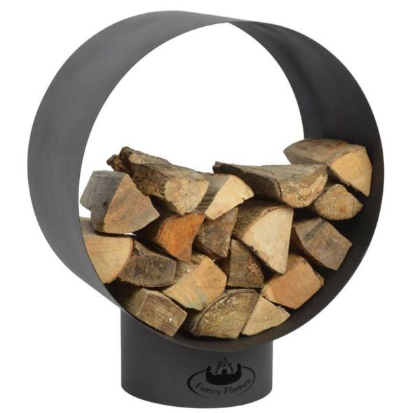 Esschert Design Structură depozitare lemne de foc, rotund FF282