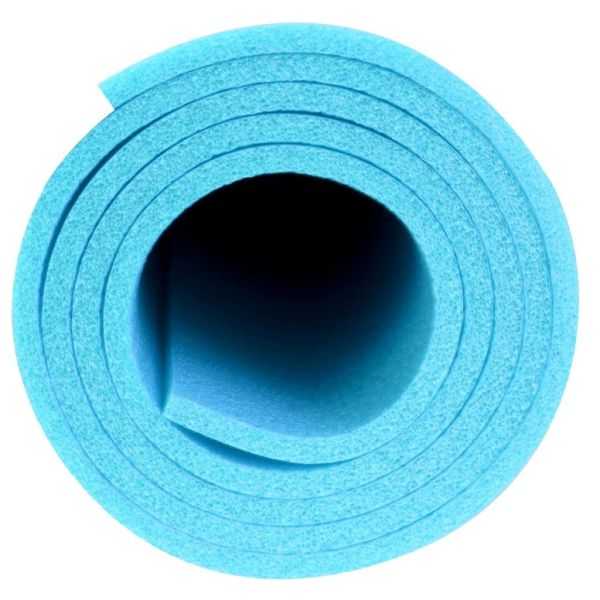 Avento Saltea de fitness yoga, albastru, 160 x 60 cm, PE, 41VG-LBL-Uni