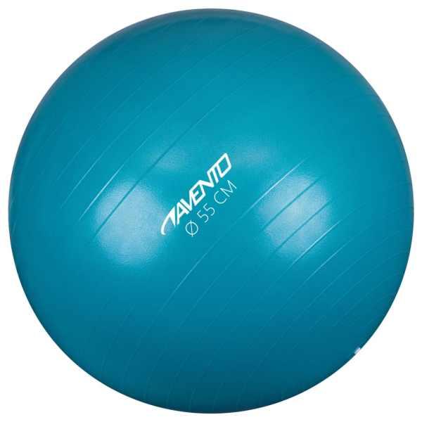 Avento Minge de fitness/gimnastică, albastru, diam.55 cm