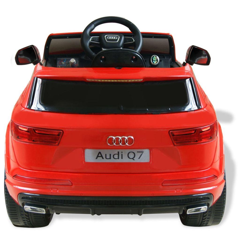 Mașinuță electrică Audi Q7, roșu, 6 V