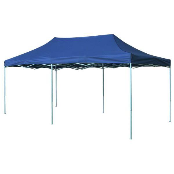 42506 vidaXL Foldable Tent Pop-Up 3×6 m Blue