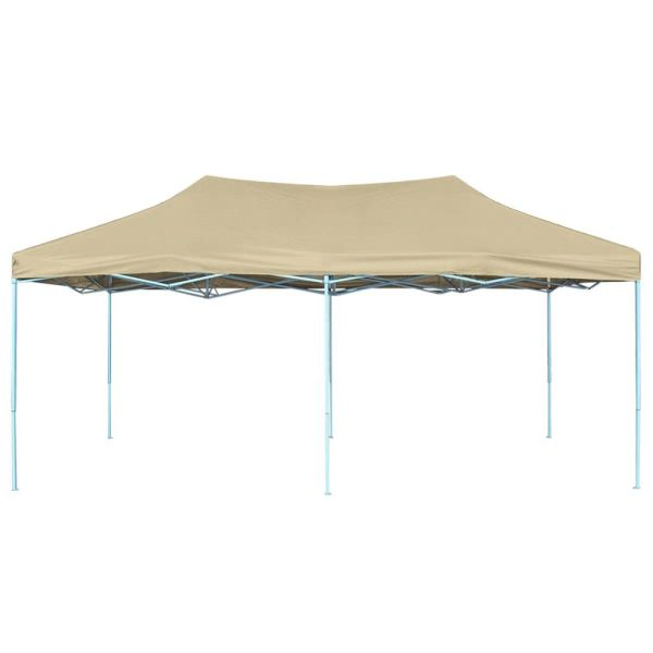 42507   Foldable Tent Pop-Up 3×6 m Cream White
