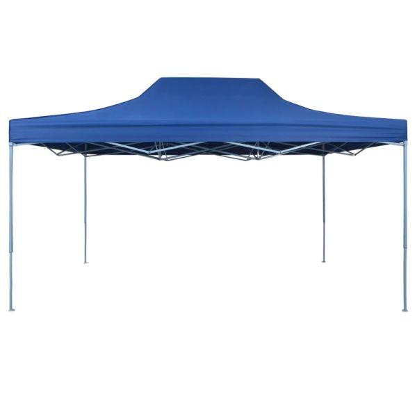 42510 vidaXL Foldable Tent Pop-Up 3×4,5 m Blue