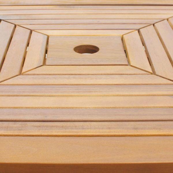 vidaXL Masă de bistro, 75 x 75 x 110 cm, lemn masiv de acacia