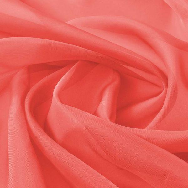 vidaXL Țesătură din voal 1,45 x 20 m, roșu