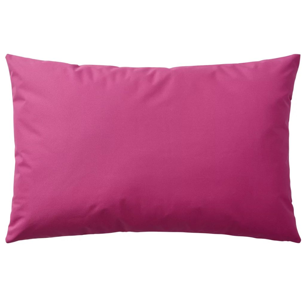 Perne de exterior, 4 buc, roz, 60 x 40 cm