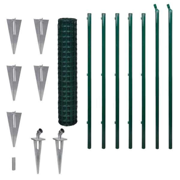 Euro gard, verde, 10 x 1,7 m, oțel