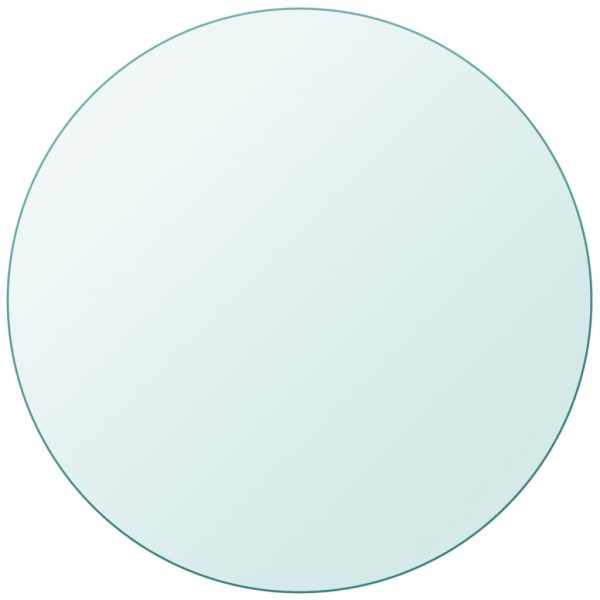 vidaXL Blat masă din sticlă securizată rotund 900 mm