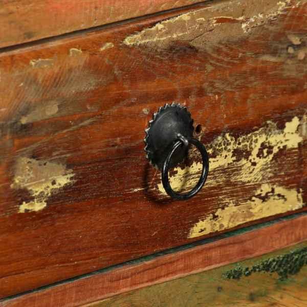 vidaXL Bufet din lemn masiv reciclat, 120x35x76 cm