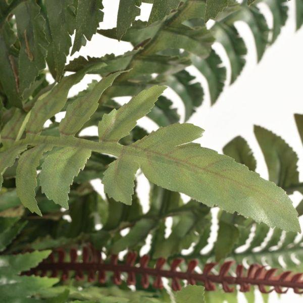 vidaXL Ferigă artificială cu ghiveci, 50 cm, verde
