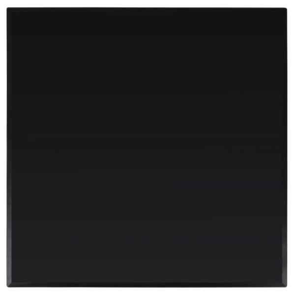 vidaXL Blat de masă din sticlă securizată, pătrat, 800 x 800 mm