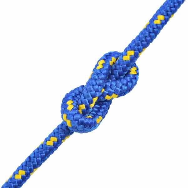Frânghie marinărească din polipropilenă 14 mm 50 m, albastru