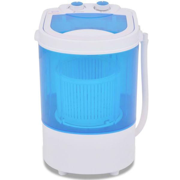 vidaXL Mașină de spălat mini, cuvă simplă, 2,6 kg