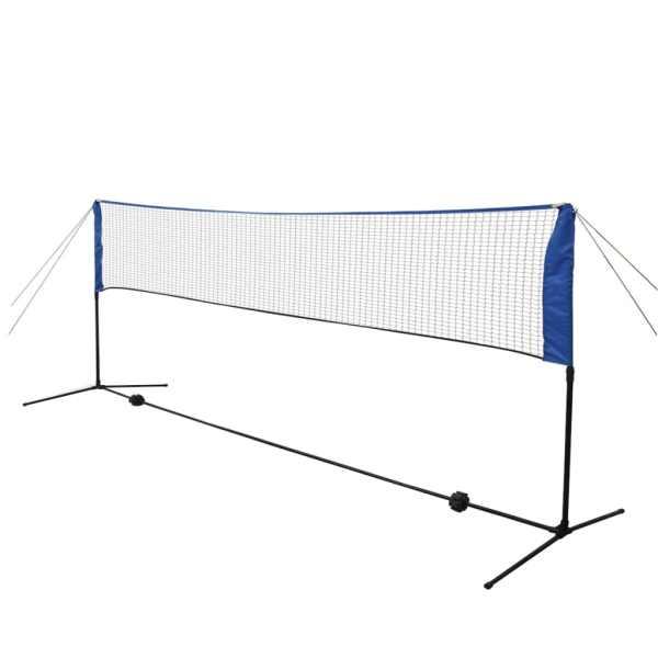 vidaXL Set fileu de badminton, cu fluturași, 300×155 cm