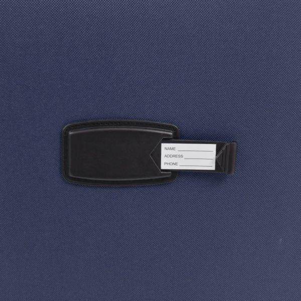 vidaXL Set de trolere din material textil, 3 buc, bleumarin