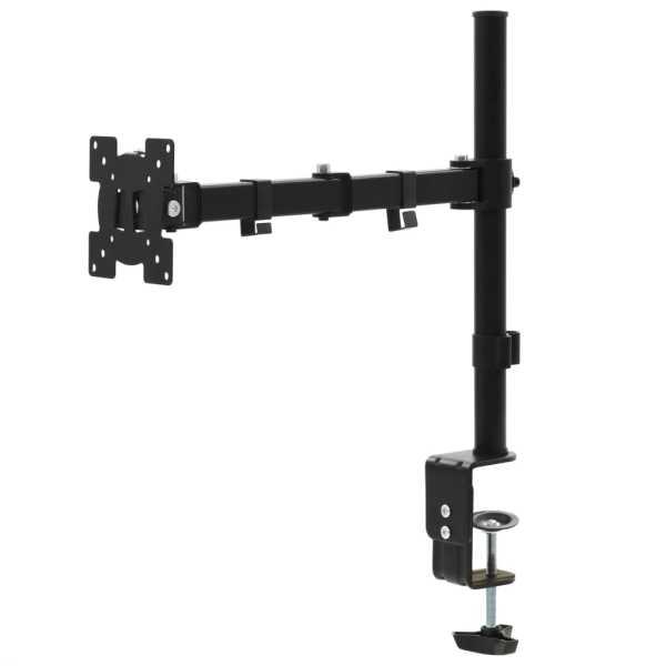 vidaXL Suport monitor 32″, braț unic, înălțime reglabilă