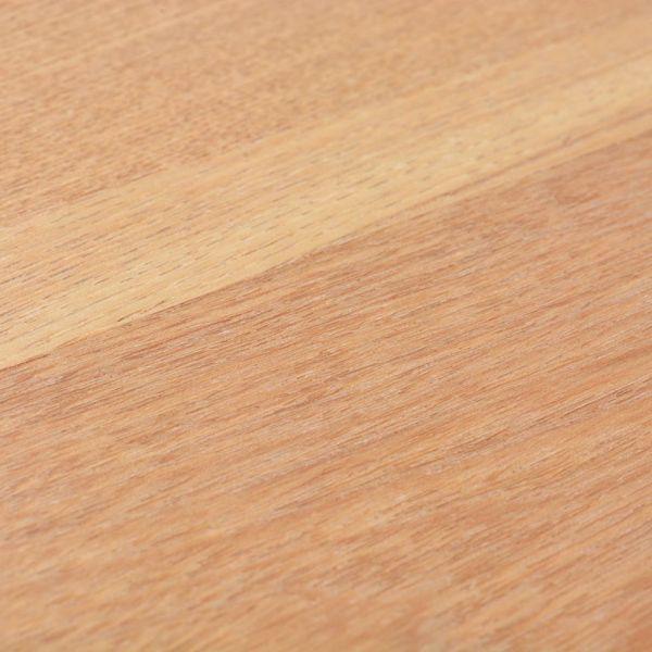 Masă consolă din cenușă, 119 x 53 x 79 cm