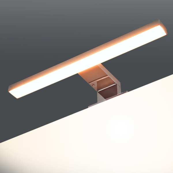 vidaXL Lampă de oglindă 5 W Alb cald