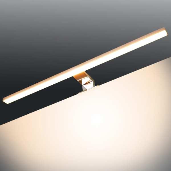 vidaXL Lampă de oglindă 8 W Alb cald