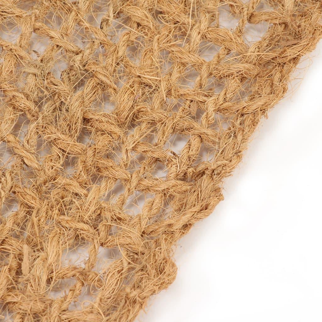 vidaXL Covor geotextil anti-eroziune, fibră de nucă de cocos, 1,9×10 m