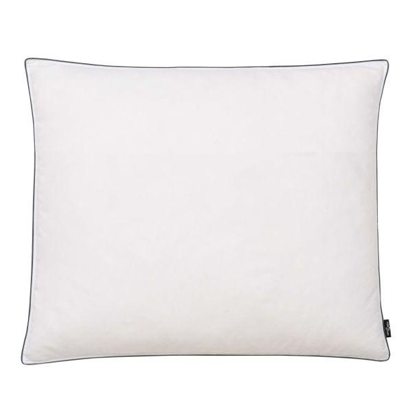 vidaXL Perne cu umplutură din puf/pene, 2 buc., 70 x 60 cm, alb