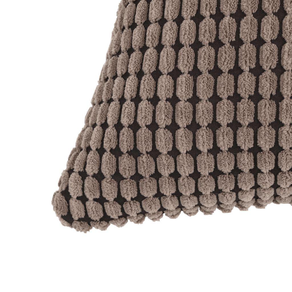 Set perne decorative 2 buc. Velur 40 x 60 cm Maro