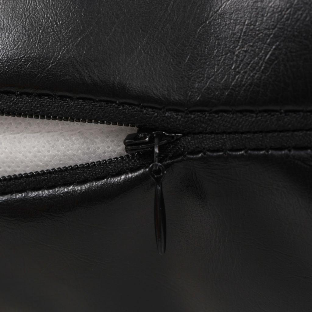 Set perne decorative 2 buc. Poliuretan 45×45 cm Negru