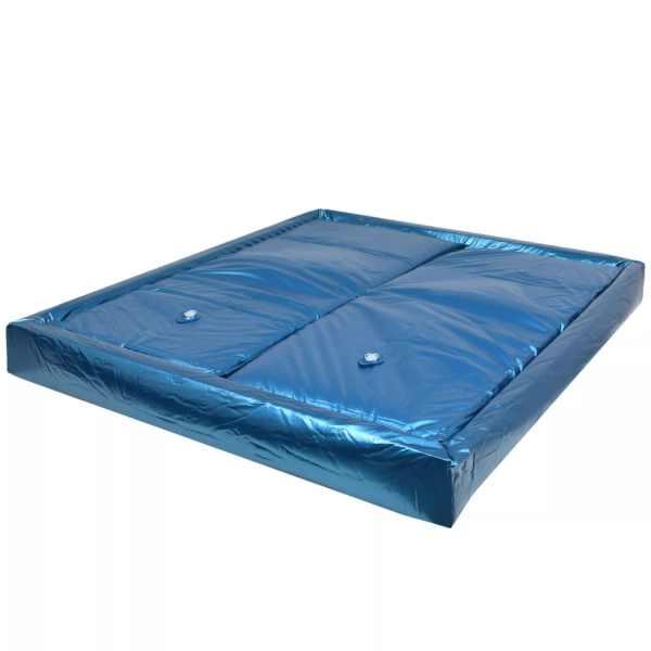 vidaXL Set saltea pat cu apă cu căptușeală și separator 200×200 cm F5
