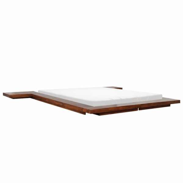 Cadru pat futon, stil japonez, 140 x 200 cm, lemn masiv