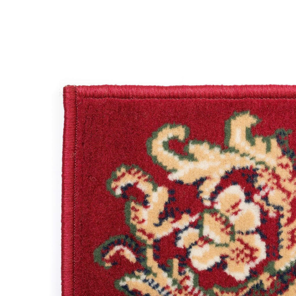 Covor oriental, roșu/bej, 140 x 200 cm