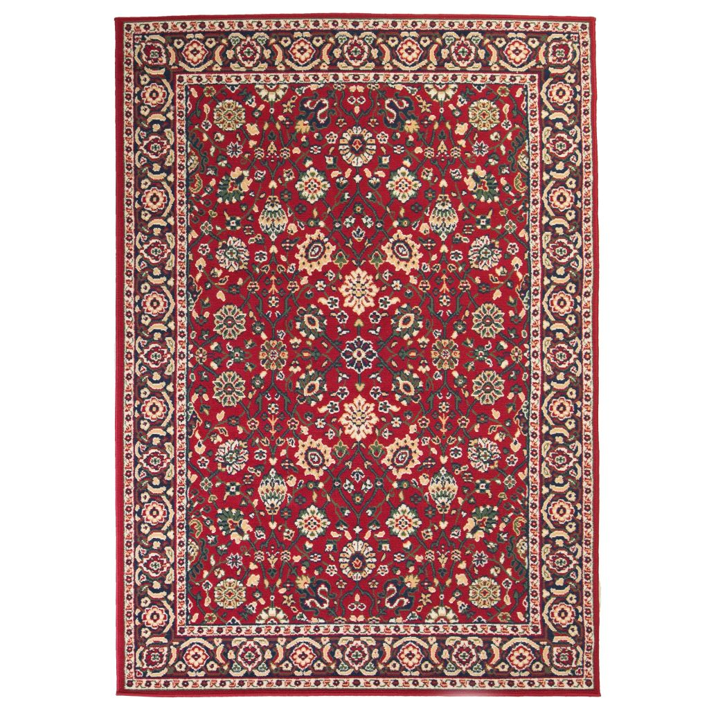vidaXL Covor oriental, roșu/bej, 80 x 150 cm