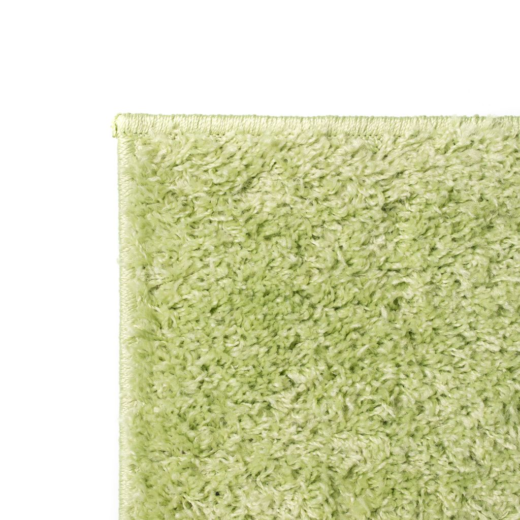 Covor cu fir lung, 140 x 200 cm, verde