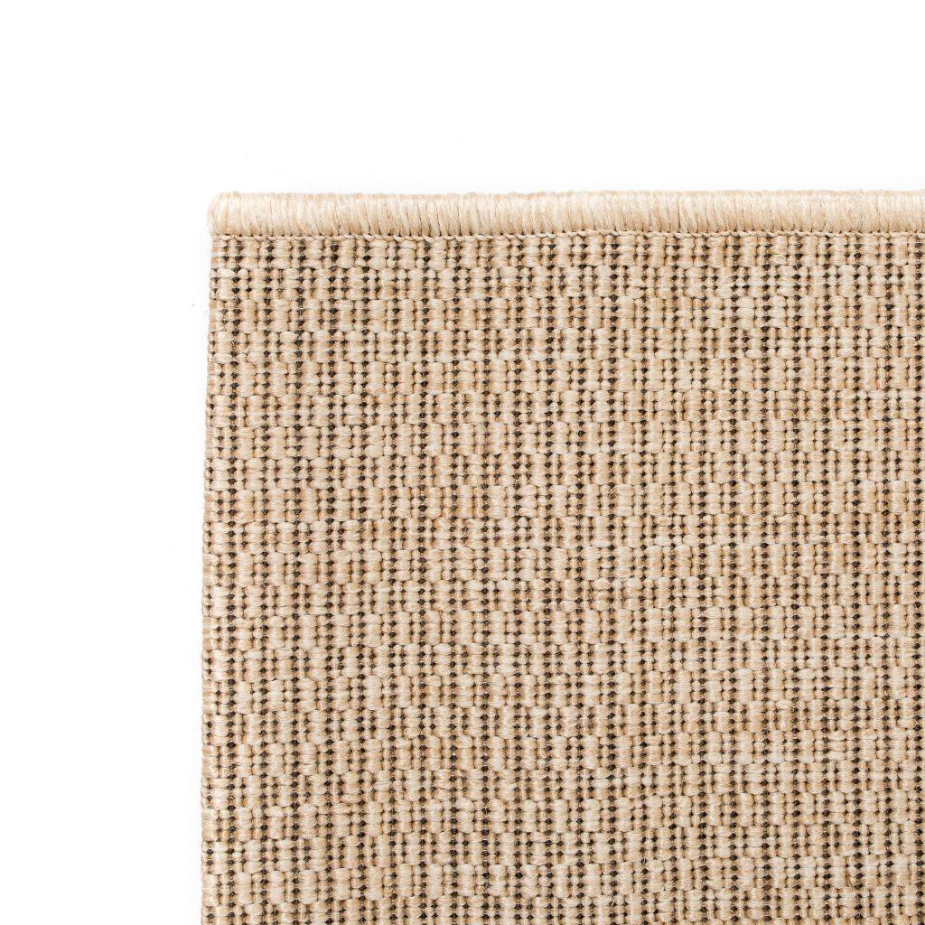 vidaXL Covor aspect sisal de interior/exterior, 120 x 170 cm, bej