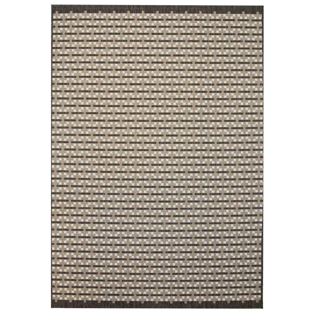 vidaXL Covor aspect sisal de interior/exterior, 80×150 cm, pătrate